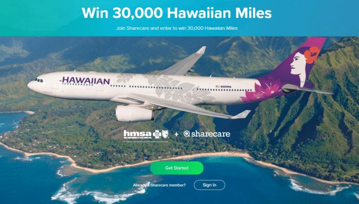 Hawaiian Miles sweepstakes