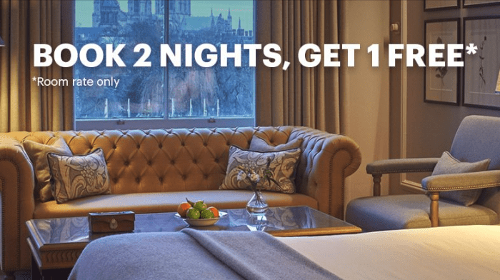 IHG Promo uk free night