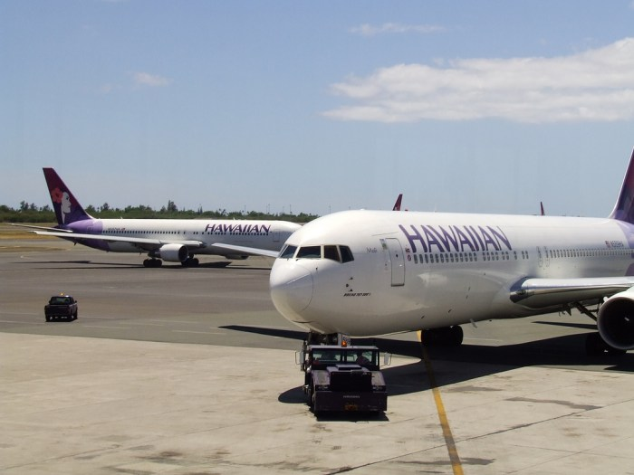 Hawaiian Airlines Change Fees