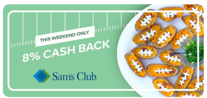 dosh sam's club cashback