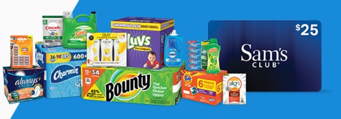 Sam's Club, Get $25 Gift Cards When You Purchase $100+ in Eligible Items