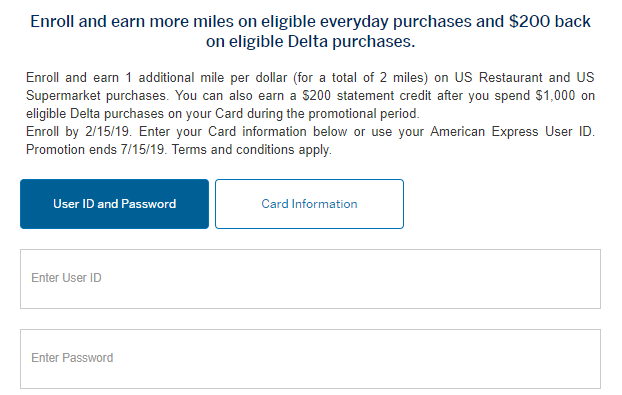 Spend $11K at Restaurants/Supermarkets with Amex Delta Card, Get