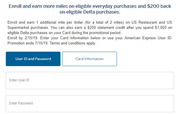 Spend $14K at Restaurants/Supermarkets with Amex Delta Card, Get