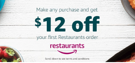 Amazon Restaurants discount