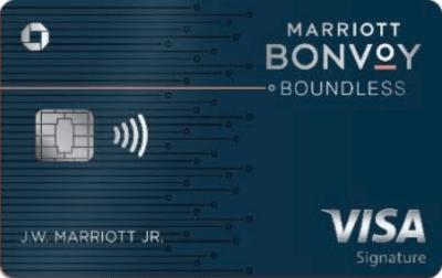 Marriott Bonvoy Boundless Card Bonus