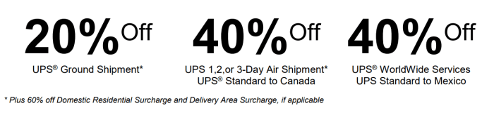 ups discount code