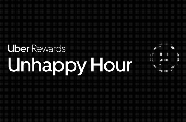 Uber Rewards Unhappy Hour