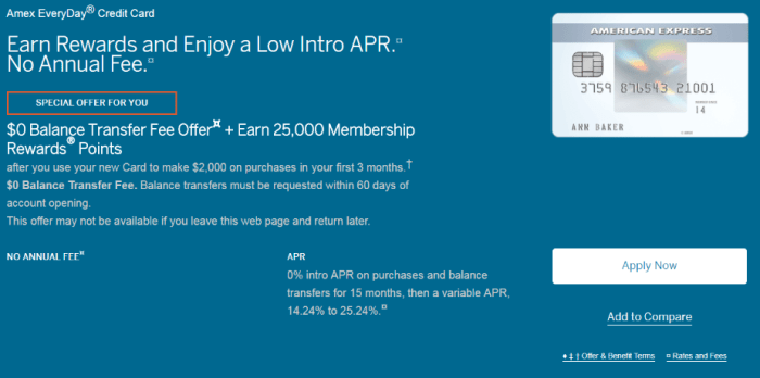 amex everyday 25k apr offer