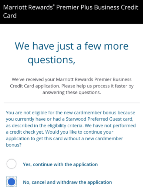 chase marriott business eligibility