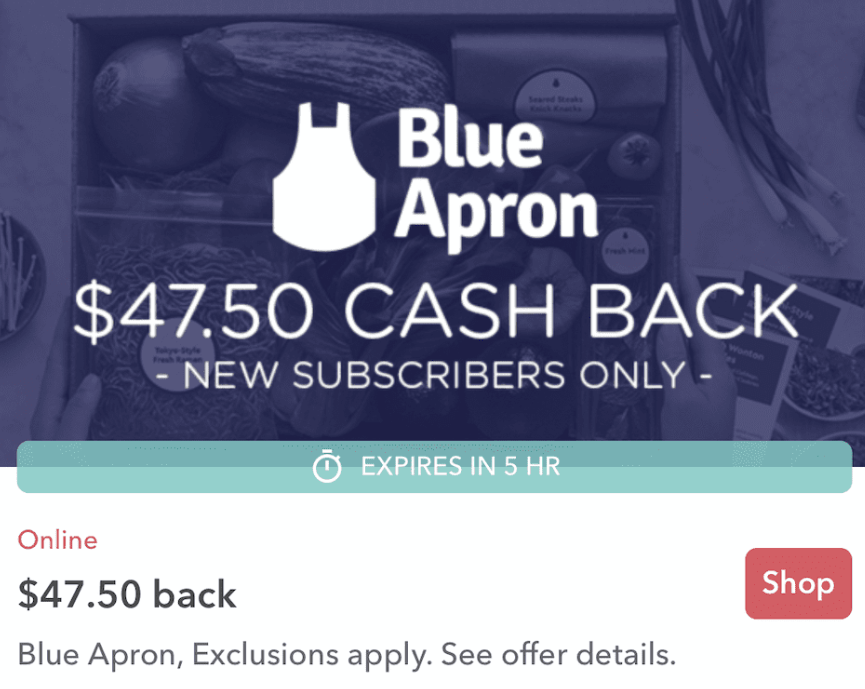 Sign Up for Blue Apron Through Ibotta, Get Free Food and