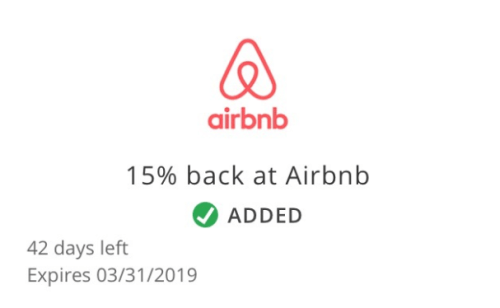 Airbnb Chase Offer