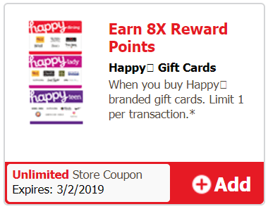 safeway happy gift cards