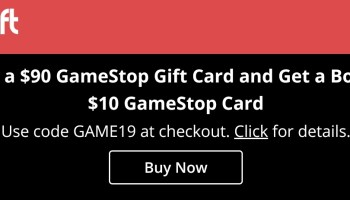 Gyft, 10% Off GameStop Gift Cards + 5X - Sirsyed College
