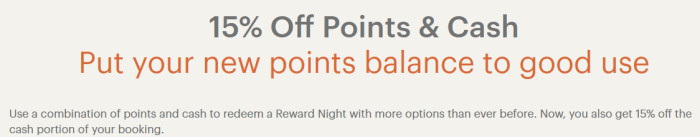IHG 15% Off Points & Cash Bookings