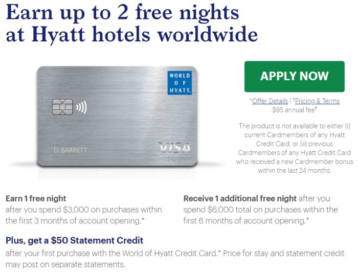 Chase Hyatt Card Bonus