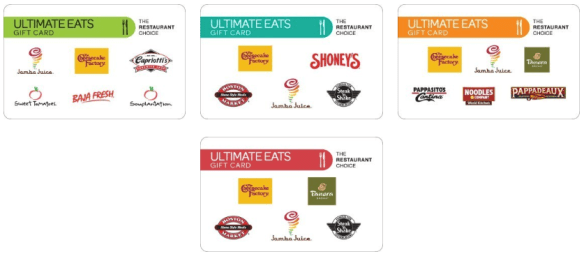 Ultimate Dining Gift Cards discount