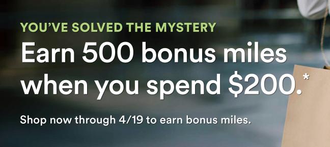Alaska Mileage Plan Shopping bonus