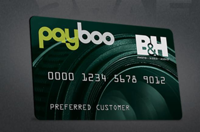 B&H Credit Card no tax