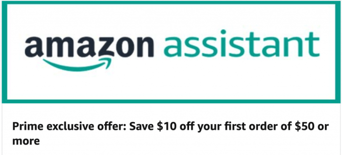 $10 Off $50 With Amazon Assistant