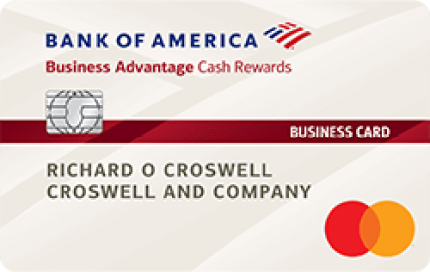 Bank of America Business Advantage Cash Rewards Mastercard