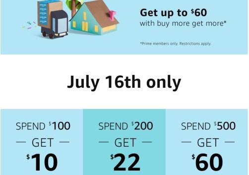 amazon app $60 credit