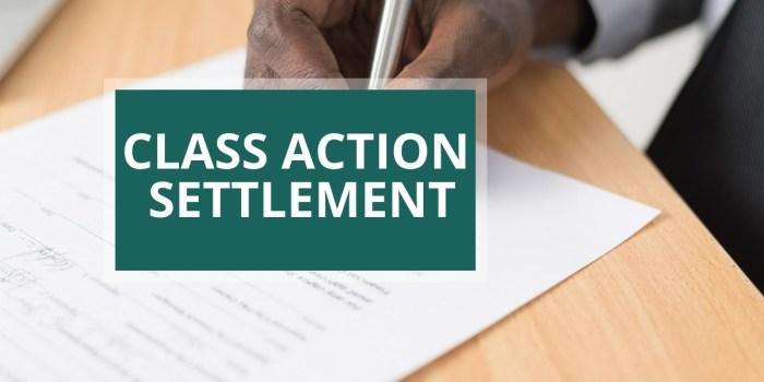 Gap Class Action Settlement