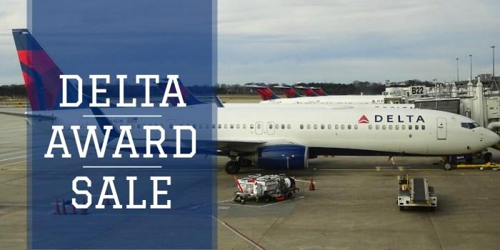 Delta Awards Sale