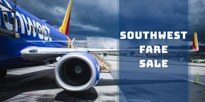 Southwest Sale