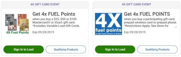 kroger fuel points deal