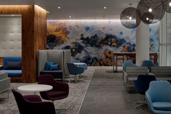 Centurion Lounge at CLT