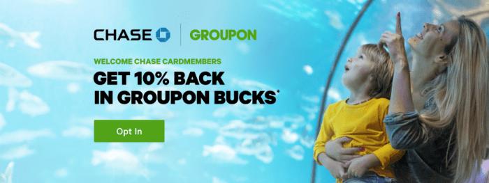 groupon chase savings