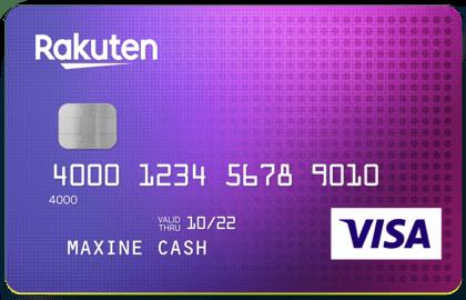 Rakuten Cash Back Visa Card