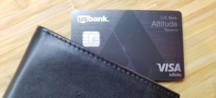 U.S. Bank Altitude Reserve travel credit