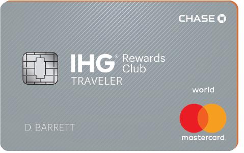 IHG Rewards Traveler Card 75k bonus