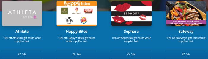 Shop Ultimate Rewards Gift Cards