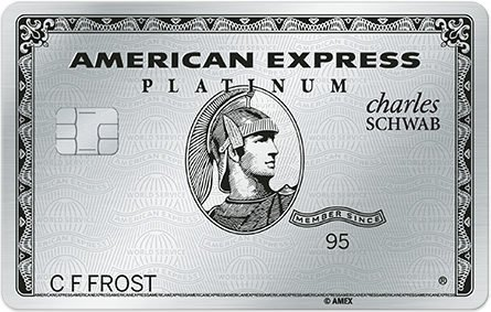 Amex Schwab Platinum issues cashing out