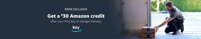 Key In-Garage Amazon Delivery bonus