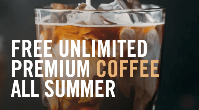 Panera Bread Unlimited Free Coffee
