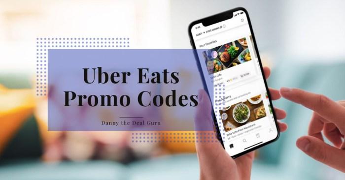 uber eats promo codes