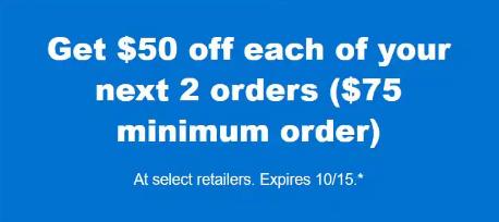 Instacart discount