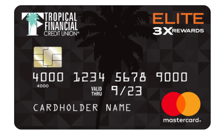 TFCU Mastercard Elite 3x Rewards
