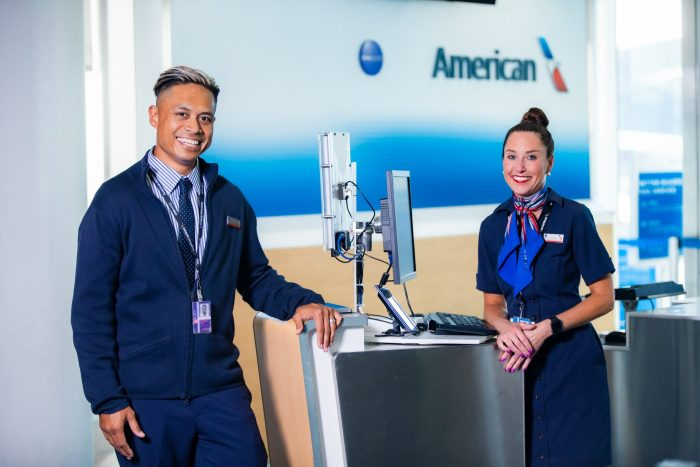 American Airlines free gift