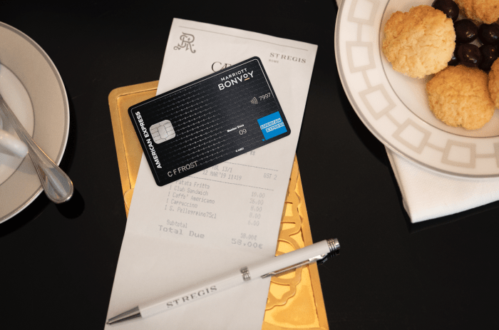 Amex Marriott Bonvoy Brilliant Card 125K Platinum Elite status