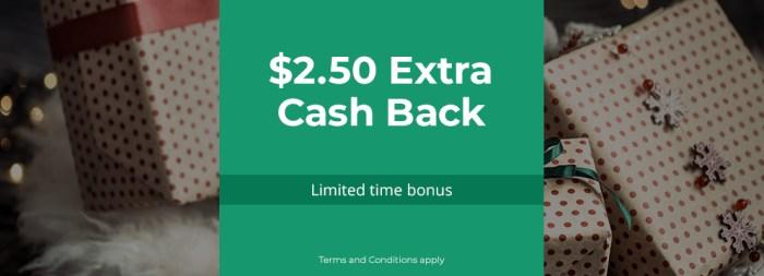topcashback spending bonus
