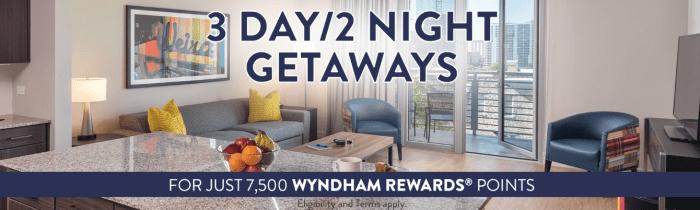Wyndham Vacation Resort offer