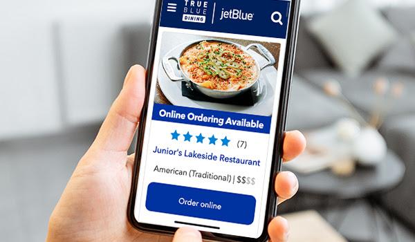 JetBlue TrueBlue Dining