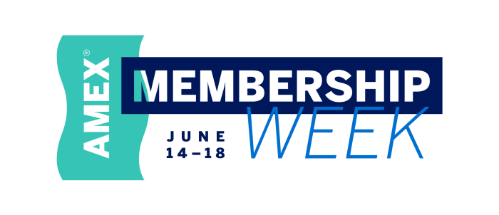 American Express Membership Week