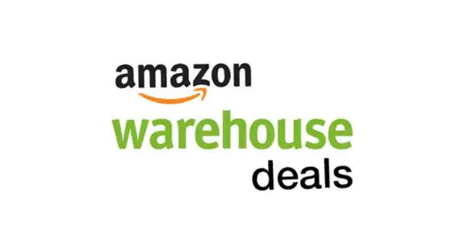 Amazon Warehouse Deals discount
