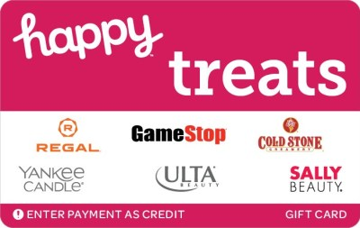 happy gift card discount
