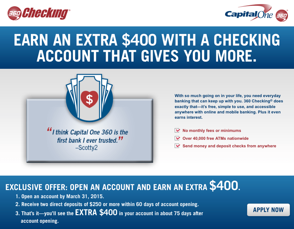 Capital One 360 Account